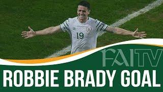 Ireland 1-0 Italy | Robbie Brady Goal