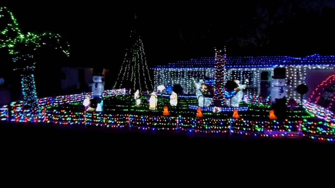 2017 Led Christmas Light Display Florida Mr Wireless Lights Sound You