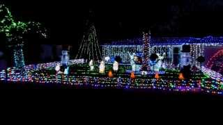 2013 Led Christmas Light Display Florida Mr Christmas Wireless Lights & Sound