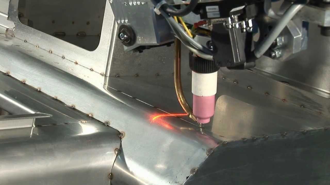 Motoman Tig Welding Robot With Motosense Vision System