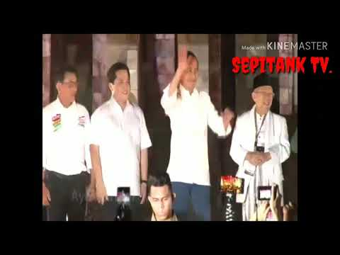 JOKOWI , COVER LAGU GOYANG 2 JARI Jelang PILPRES 2019