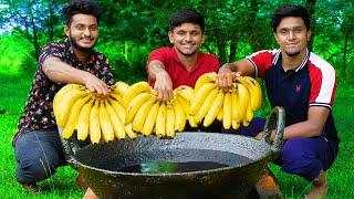 BANANA BONDA | HOW TO MAKE BANANA BALLS | EVENING SNACKS RECIPE | 5 MINUTE RECIPE | FOOD4 PEOPLE