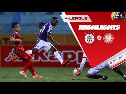 Đánh bại TP. Hồ Chí Minh nhờ bàn thắng của Hoàng Vũ Samson, Hà Nội FC trở lại ngôi đầu V.League 2019