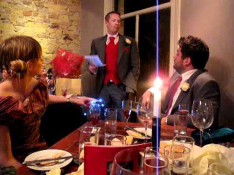 Kevin Hobbs best man speech for Tim Archer and Jes...