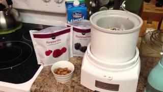 Healthy Ice Cream Recipe With Almond Milk