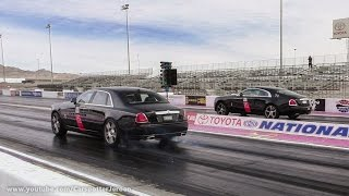 DRAGRACE | Rolls Royce Ghost vs. Wraith Almost goes wrong!