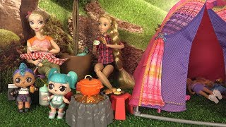 Poupées LOL Morning Routine du Matin au Camping de Barbie avec Punk Boi thumbnail