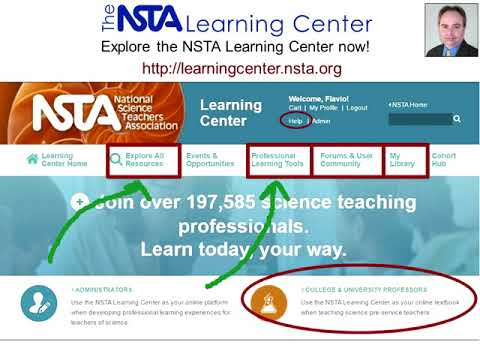 Using NSTA as Your OnlineTextbook with Pre Service Teachers