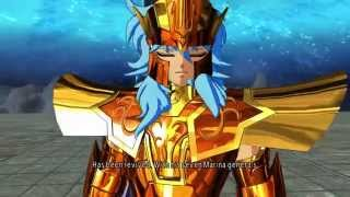 Saint Seiya Soldier's Soul: Poseidon Chapter walkthrough Part 1 [PS4] (English)