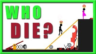 who die first - stupid stickman - night gaming