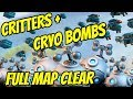 Tribal Critters + Cryo Bombs - Ridiculous Boom Beach Map Clear