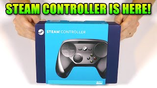 Steam Controller Unbox And First Impressions - Can It Play Battlefield?