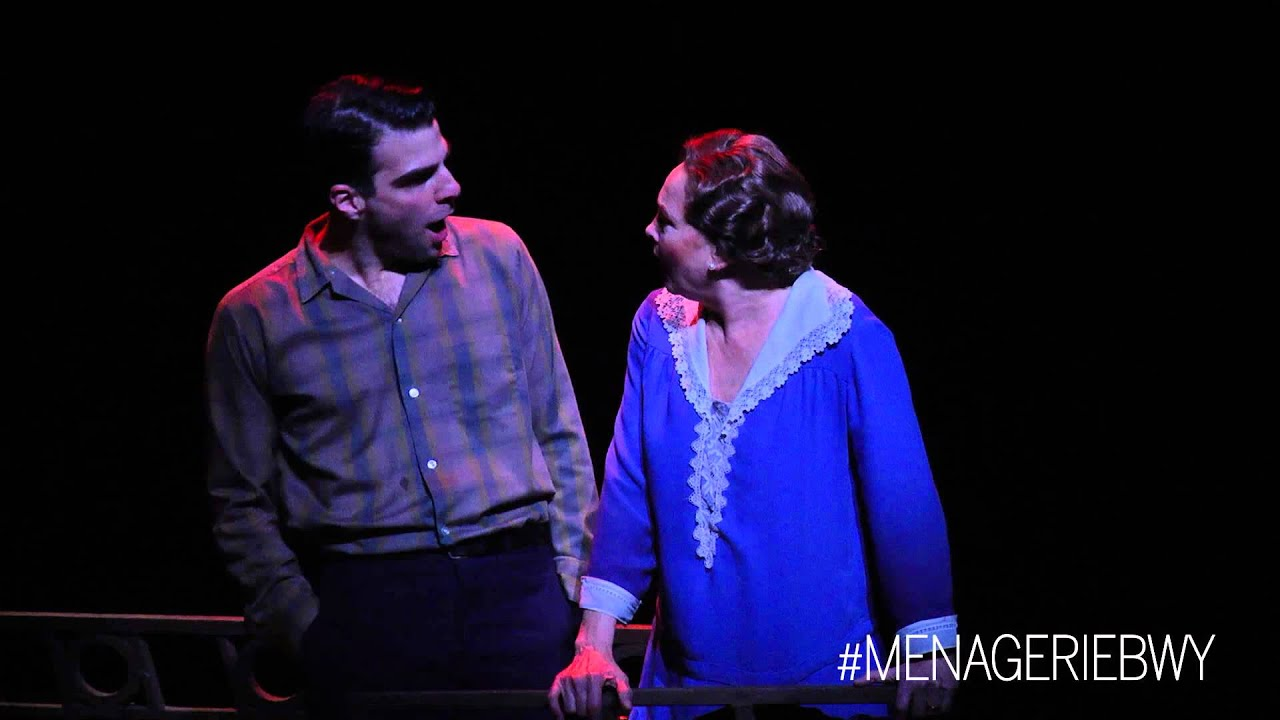 the glass menagerie zachary and cherry clip