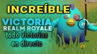 Primer directo 2019 - Realm Royale  |nuevo battle royal gratis |a por victorias con suscriptores| Es