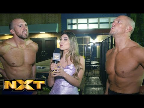 Burch & Lorcan vow to win it all at TakeOver: XXV: NXT Exclusive, May 29, 2019