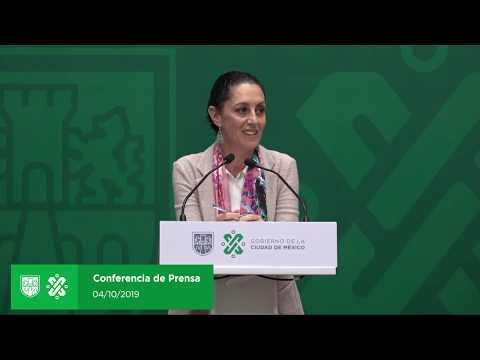 Conferencia de prensa sobre la SSC y temas de importancia para la ciudadanía