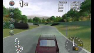 Classic British Motor Racing - Wii Track 3 (Greenwood County)