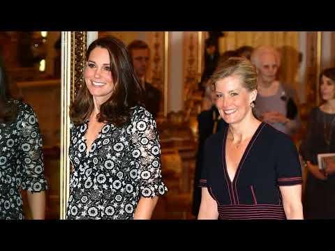 Kate Middleton Hosts Commonwealth Fashion Exchange Reception at Buckingham Palace