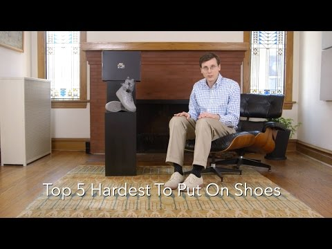Top 5 Hardest To Put On Sneakers