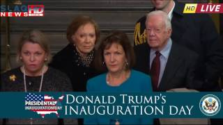 Donald Trump's inauguration ceremonies