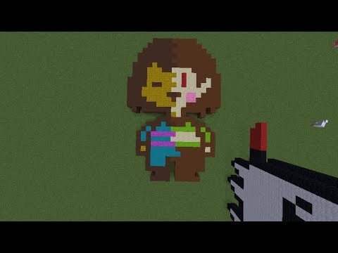 How To Draw In Frisk Roblox Pixel Art