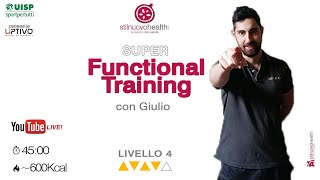 Functional Training - Livello 4 - 6  (Live)
