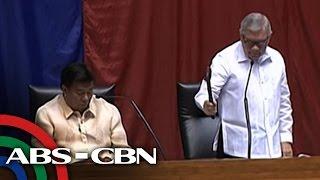 TV Patrol: Canvassing ng boto sa pangulo, VP ipinanukala na hiwalayin