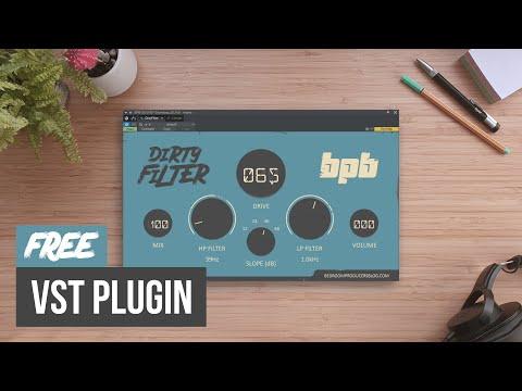 FREE Distortion VST Plugin (BPB Dirty Filter)
