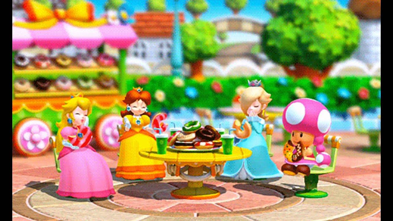 Princess Peach Mario Party 2