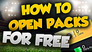 FIFA 15 - HOW TO OPEN UNLIMITED PACKS FOR FREE !!!