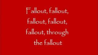 Fallout-Marianas Trench lyric video