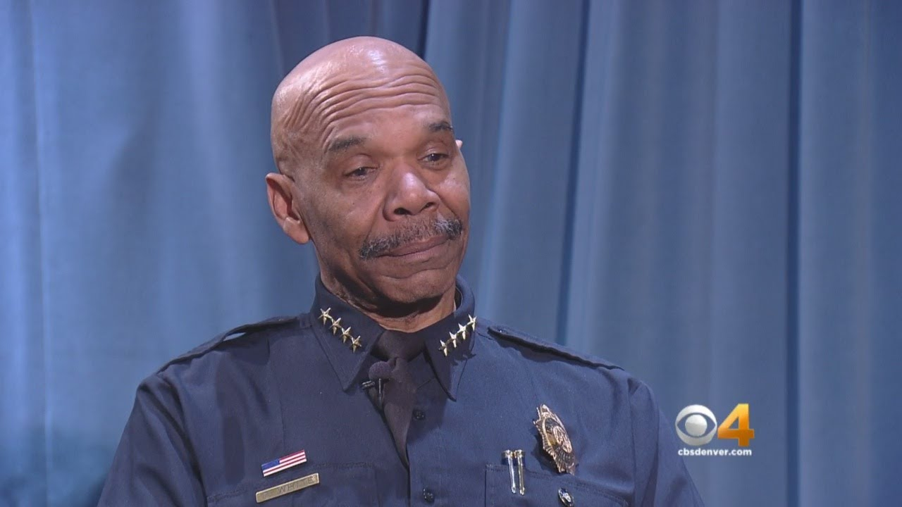 WEB EXTRA: Denver Police Chief Sits Down With CBS4