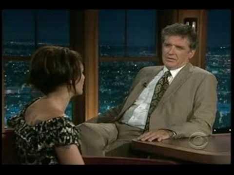 Lena Headey on The Late Late Show w/ Craig Ferguson 9/12/08