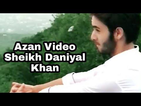 Pakistan Tiktok Super Star Daniyal Khan Azan Video | Islamic Videos Of Pak Tiktok Star Daniyal Khan
