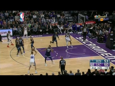 دوري كرة السلة الأمريكي: سكرامنتو كينغز يضع حدا لسلسة الهزائم أمام مينيسوتا تمبروولفز…  - 17:54-2018 / 11 / 10
