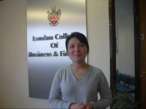 LCBF Webcast : Student Testimonials - Zarina, Uzbekistan