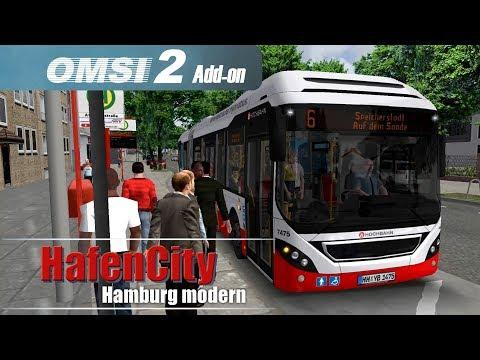 OMSI 2 Hamburg Hafencity | Mit der Metrobuslinie 6 zur Speicherstadt ☆ Let's Play OMSI 2 #559
