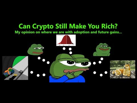 Can Crypto Still Make You RICH? BTC Adoption/price Theory Chart! Feel Good Crypto Video!