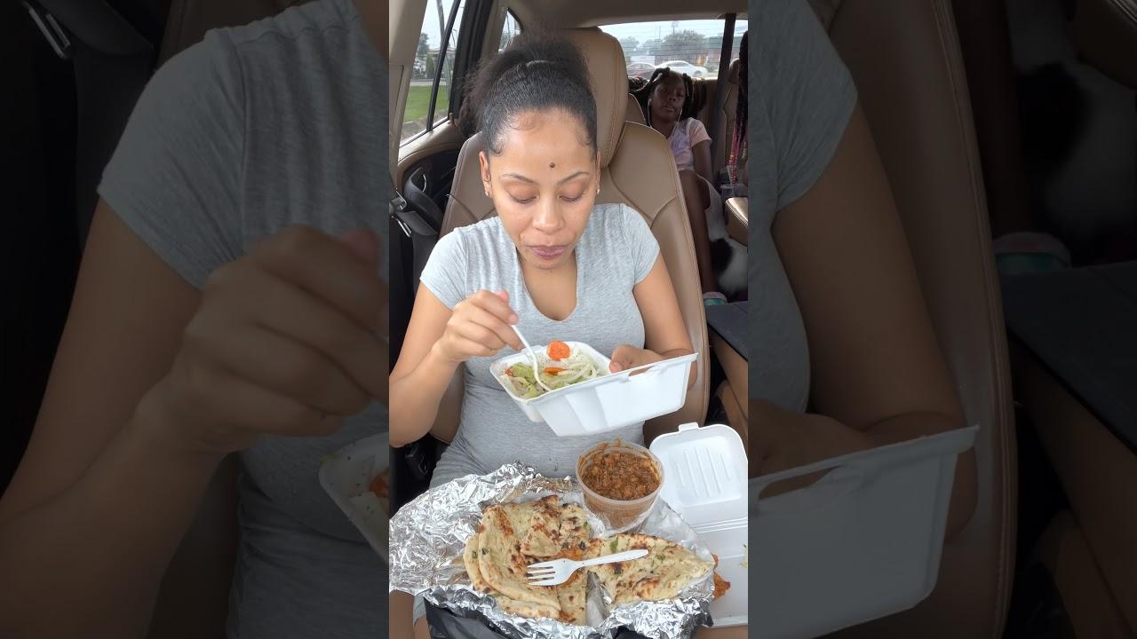 Feasting On Indian Good 😋 I'm Soooo Hungry