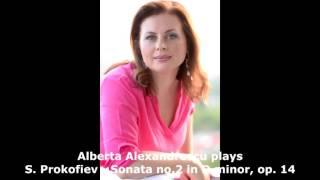 Alberta Alexandrescu plays S. Prokofiev - Piano Sonata No.2 in D minor op.14