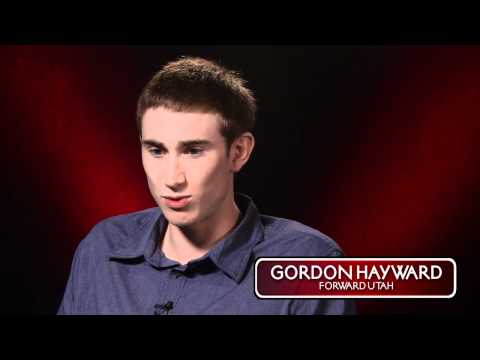 Anna Prosser interviews Gordon Hayward