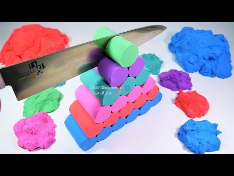 Oddly Satisfying Video | Kinetic Sand | ASMR |  Lucas the Spider - Musical Spider