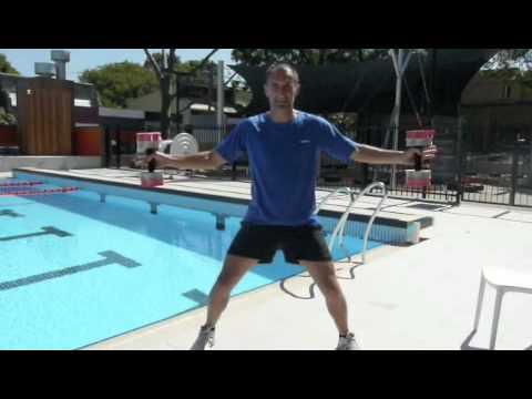 AQUA Spectacular FILEX 2010, Part 1 - Shallow Workouts With Bells