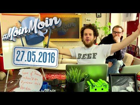 #MoinMoin mit Florentin Will   Der dicke Florentin, Imker und Seegurken   27.05.2016