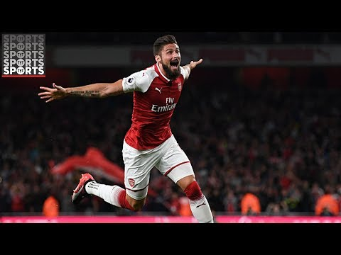 Arsenal 4-3 Leicester City [Giroud Goal Saves Arsenal in Wild Opener]