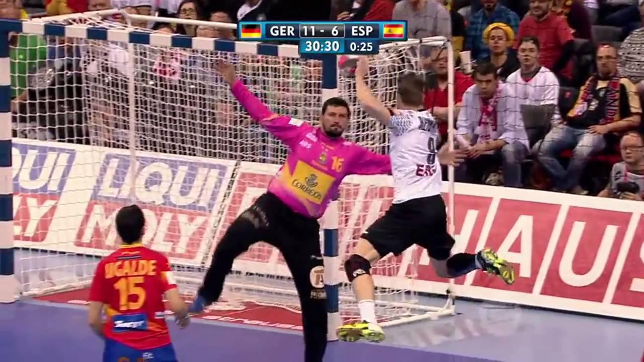 Handball EM Die Top 5 Tore Deutschland gegen Spanien | Sportschau