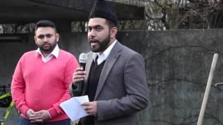 Die Ahmadiyya Muslim Jamaat Schweiz Pflanzt ein Friedens Baum in Zuchwil
