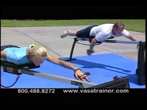 Vasa Ergometer: Indoor Swim Training For Swimming, Triathlon, Surfing, SUP And Paddle Sports