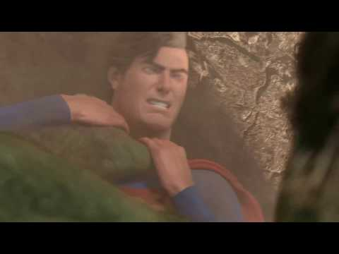 Superman vs Hulk - The Fight (Part 3)