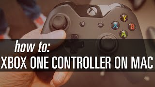 How To Use XBOX ONE Controller on Your Mac